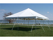 Tent, 20 x 20 ft Canopy Pole Tent