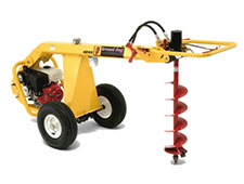 Auger, Hydraulic Towable, 1-Man