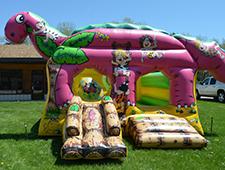 Jurassic Fun Bounce House